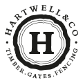 hartwell fencing logo