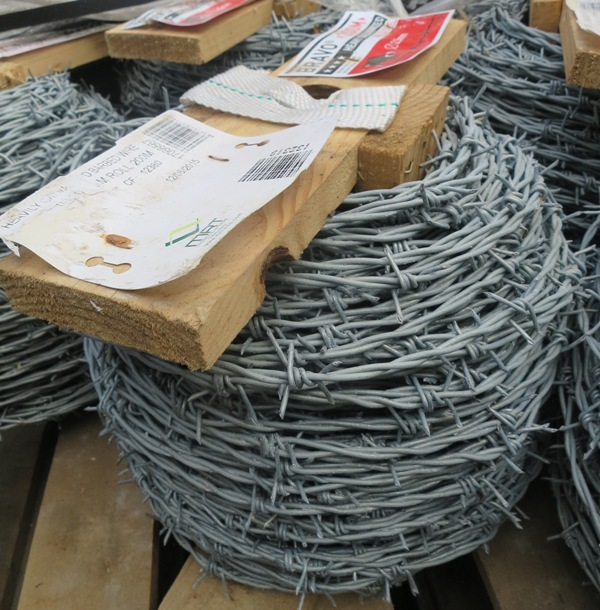Barbed wire hartwells fencing