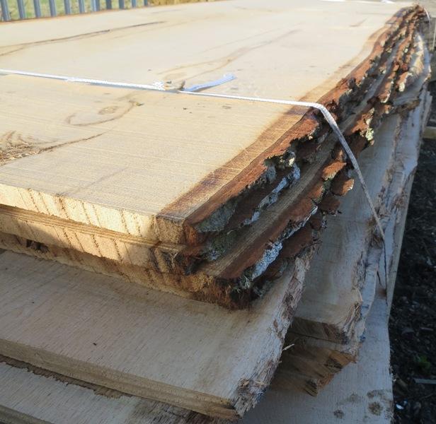 Waney Edge Boards Hartwells Fencing