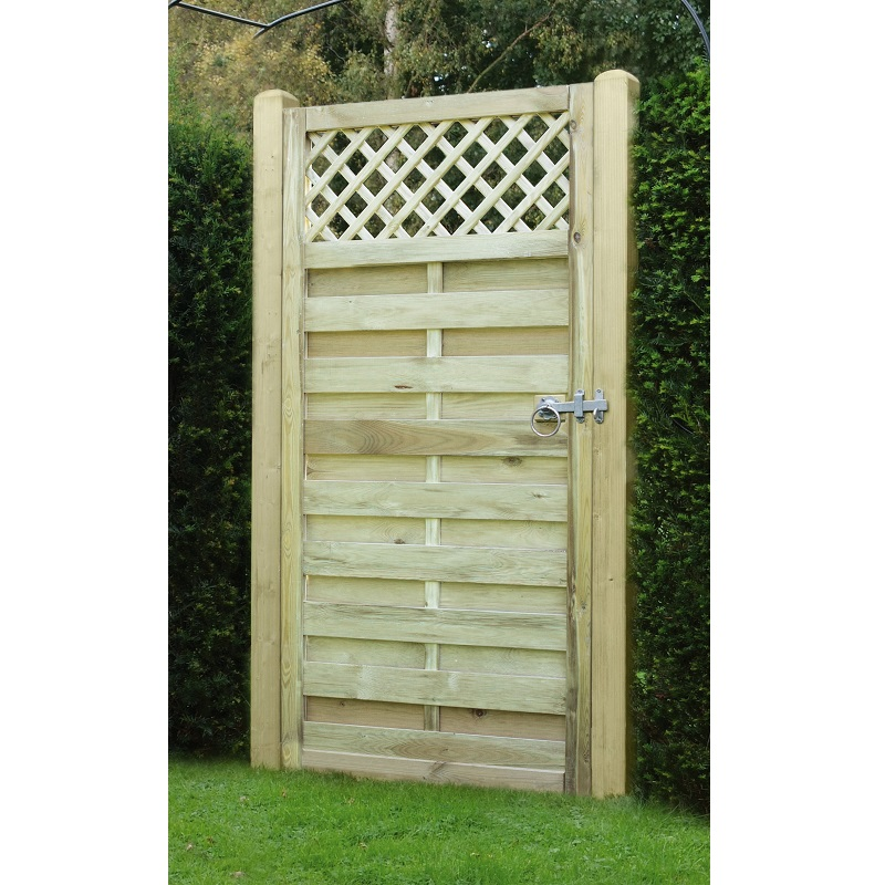 Horizontal Lattice Top Gate Hartwells Fencing